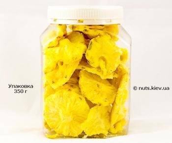 Ананас сушеный натуральный - Упаковка 350 г
