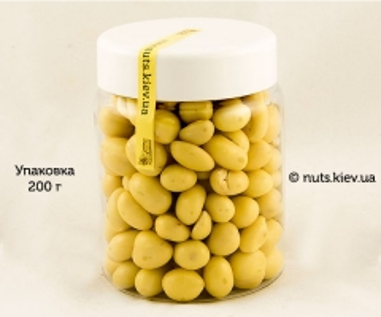 Арахис в белом шоколаде - Упаковка 200 г