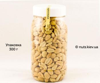 Арахис жареный соленый - Упаковка 300 г