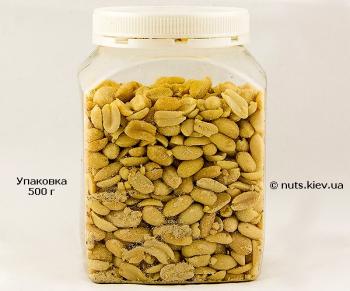 Арахис жареный соленый - Упаковка 500 г