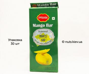 Батончики фруктовые Манго Бар Pran - Упаковка 30 шт