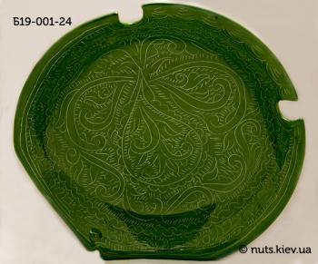 Блюдце 19 см - 001