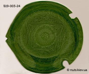 Блюдце 19 см - 003