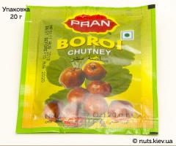 Чатни из ягод борой бенгальский Pran - Упаковка 20 г