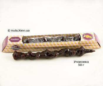 Чурчхела с миндалем и курагой в виноградно-яблочном соку - Упаковка 50 г