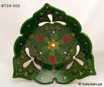 Фруктовница треугольная 24-25 см - 002