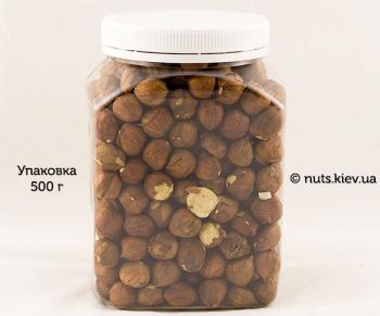 Фундук сырой - Упаковка 500 г