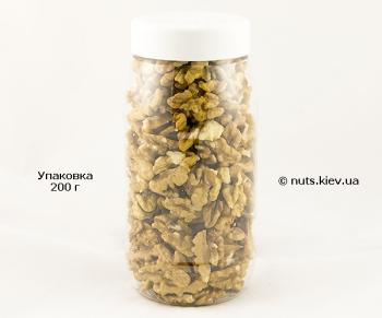 Грецкий орех очищенный Бабочка половинки - Упаковка 200 г
