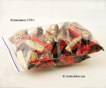 Халва подсолнечная с арахисом в шоколадной глазури - Упаковка 270 г