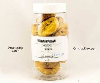 Инжир сушеный - Упаковка 250 г