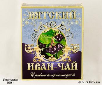Иван-чай ферментированный Вятский С рябиной черноплодной - Упаковка 100 г