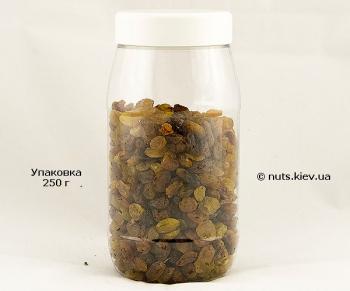Изюм светлый без косточки Малаер - Упаковка 250 г