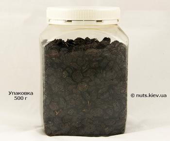 Изюм темный узбекский 1/с - Упаковка 500 г
