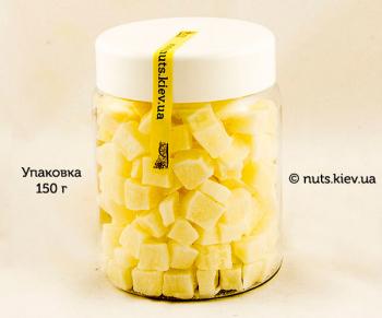 Кокос сушеный кубик - Упаковка 150 г
