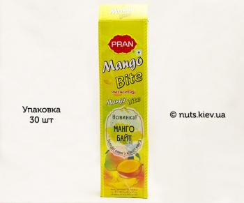 Конфеты фруктовые Манго Байт Pran - Упаковка 30 шт
