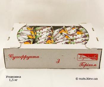 Курага и чернослив с грецким орехом в шоколаде - Упаковка 1500 г