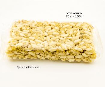 Козинаки из воздушного риса - Упаковка 70 г - 100 г