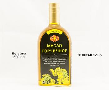 Масло горчичное нерафинированное - Бутылка 500 мл