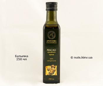 Масло грецкого ореха растительное рафинированное - Бутылка 250 мл