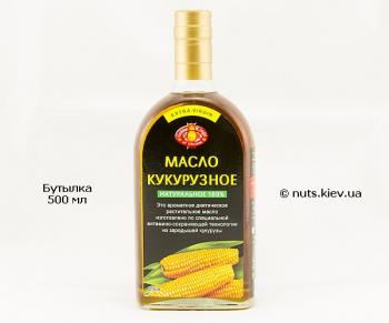 Масло кукурузное нерафинированное - Бутылка 500 мл