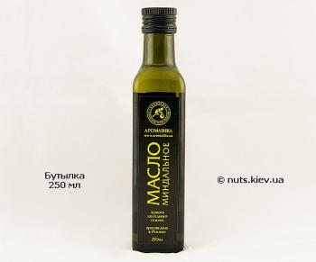 Масло миндального ореха растительное нерафинированное - Бутылка 250 мл