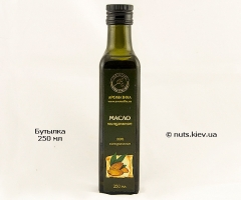 Масло миндального ореха растительное рафинированное - Бутылка 250 мл