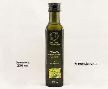 Масло виноградных косточек растительное рафинированное - Бутылка 250 мл
