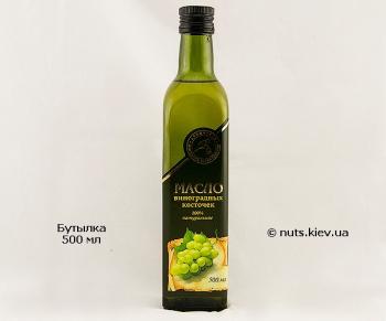 Масло виноградных косточек растительное рафинированное - Бутылка 500 мл