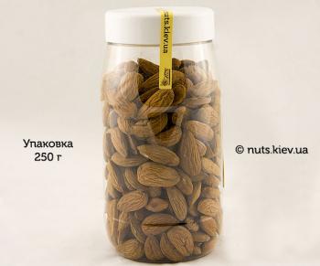 Миндаль сушеный сырой украинский - Упаковка 250 г