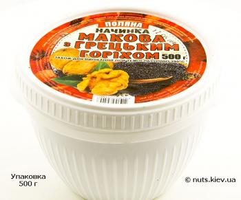 Начинка маковая с грецким орехом - Упаковка 500 г