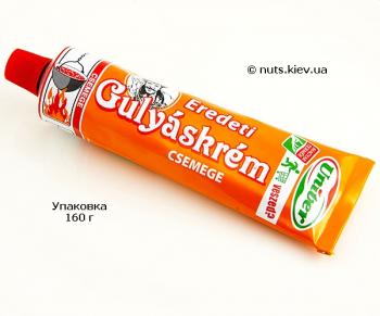 Паста венгерская Gulyaskrem Chemege деликатная Гуляшкрем Чемеге - Упаковка 160 г