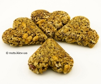 Печенье Гранолина сердечки