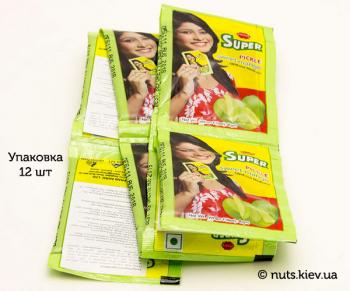 Пикули сладкие из мякоти манго бенгальские Pran - Упаковка 12 шт по 8 г