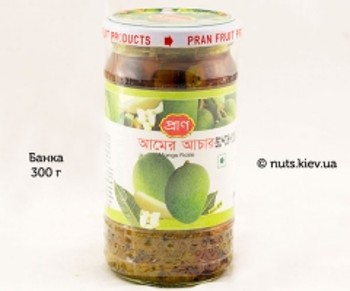 Пикули манго маринованный бенгальский Pran