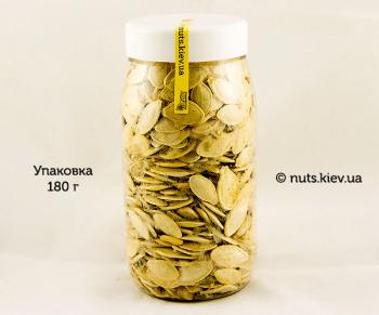 Семечки тыквы сырые не очищенные - Упаковка 180 г