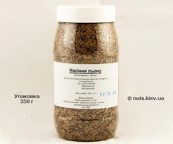 Семена льна - Упаковка 350 г