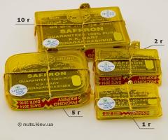 Шафран - 4 вида упаковки