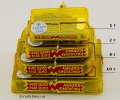 Шафран - 4 вида упаковки пирамидой