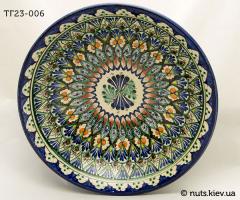 Тарелка глубокая 23 см - 006