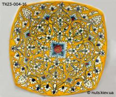 Тарелка квадратная 23 см - 004