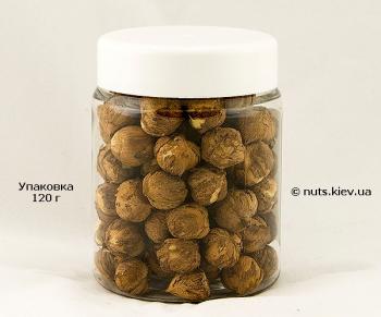 Фундук дикий лещина сырой очищенный - Упаковка 120 г