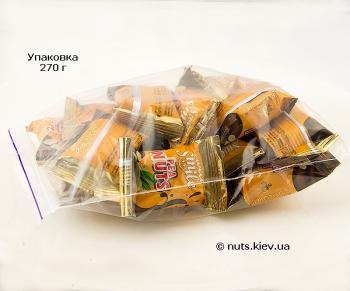 Халва арахисовая в шоколадной глазури - Упаковка 270 г