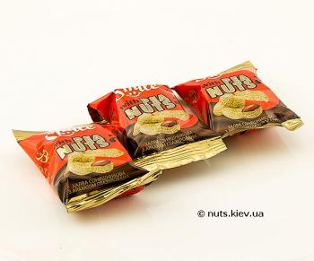 Халва подсолнечная с арахисом в шоколадной глазури