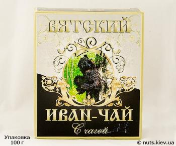 Иван-чай ферментированный Вятский С чагой - Упаковка 100 г