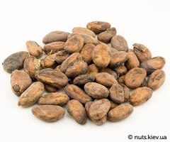 Какао-бобы сырые неочищенные