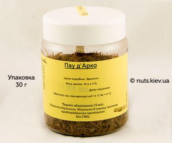 Кора муравьиного дерева, Пау д'Арко - Упаковка 30 г
