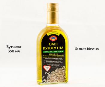 Масло кунжутное растительное нерафинированное - Бутылка 350 мл