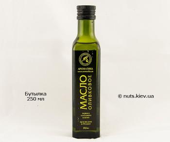 Масло оливковое растительное нерафинированное - Бутылка 250 мл