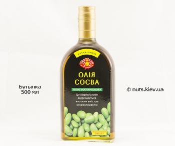 Масло соевое нерафинированное - Бутылка 500 мл