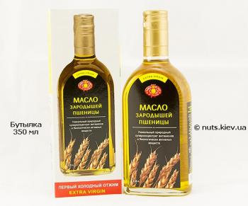 Масло зародышей пшеницы нерафинированное - Бутылка 350 мл